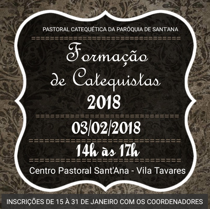 Formacao 2018